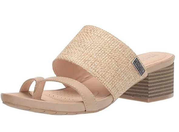 Footwear Kenneth Cole REACTION Women's Two-Band Heeled Sandal Mist