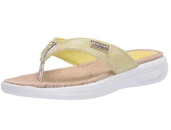 Footwear Kenneth Cole REACTION Women's Thong Sandal Lemon Zest
