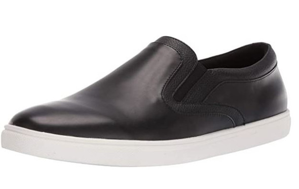 Footwear Unlisted by Kenneth Cole Men's Stand Slip on Snkr Sneaker Black