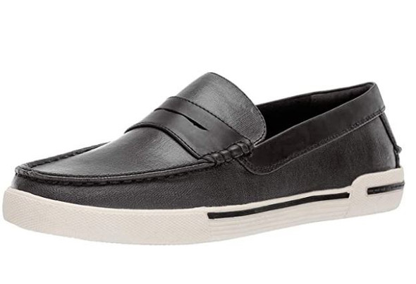 Footwear Unlisted by Kenneth Cole Men's Un-Anchor Boat Shoe Black