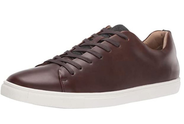 Footwear Unlisted by Kenneth Cole Men's Stand Sneaker PT Brown
