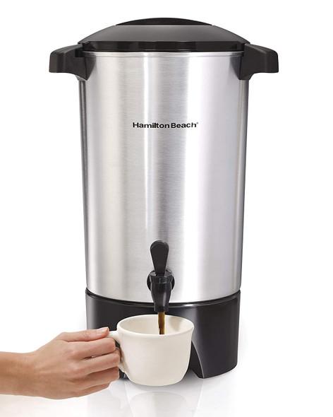 COFFEE MAKER HAMILTON BEACH 40515 STAINLESS STEEL