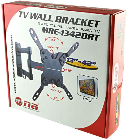 "TV WALL BRACKET MRE-1342DRT 13-42""  NIPPON AMERICA"