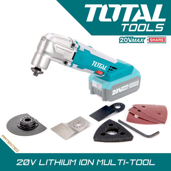 MULTI TOOL TOTAL Li-ion 20V TMLI2001