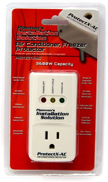 SURGE PROTECTOR AIR CONDITIONER PROTECTX-AC PIPEMAN'S AC VOLTAGE