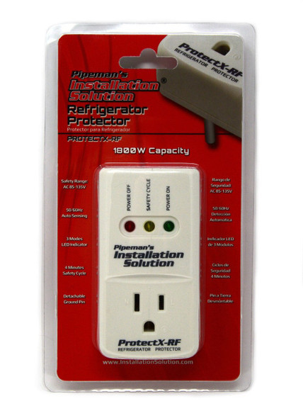 SURGE PROTECTOR PROTECTX-RF PIPEMAN'S REFRIGERATOR 1800W A/C