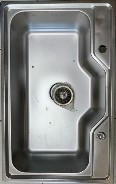 """SINK S/BOWL 31.5"""" X 20"""" W/WASTE FLAT EDGE FITS IN COUNTER TOP"""