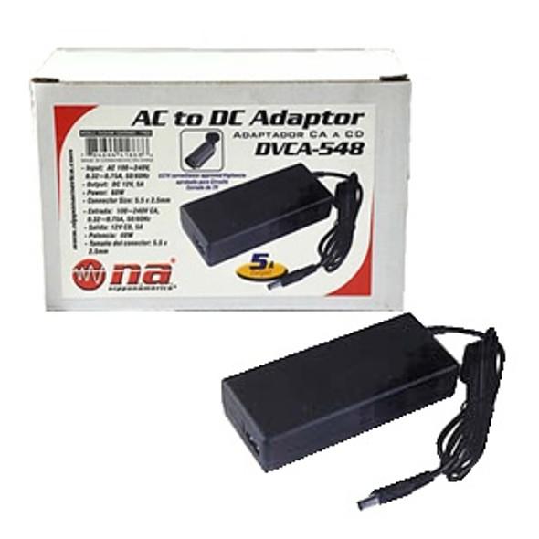 ADAPTOR AC/DC NIPPON AMERICA DVCA-548 60W 110-220V