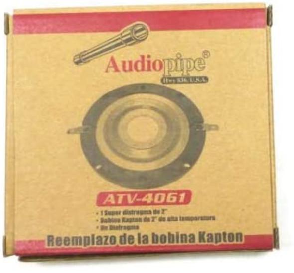 TWEETER COIL ATV-4061 AUDIO PIPE