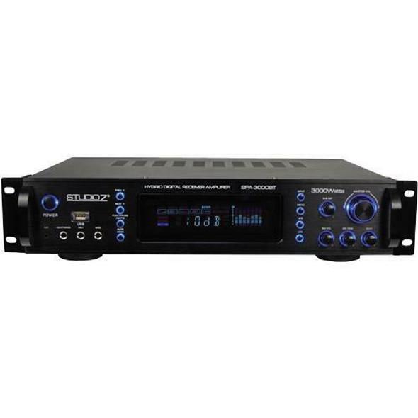 AMPLIFIER STUDIOZ SPA-3000BT WTH BLUEBOOTH HYBRID DIGITAL 3000W