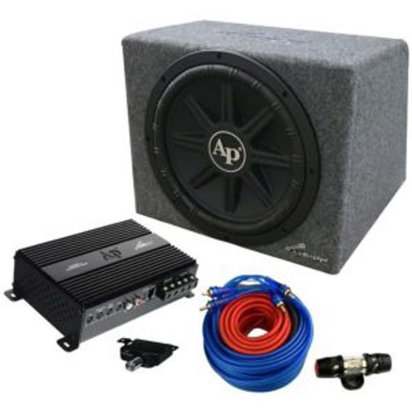 "SPEAKER BOX CAR AUDIO PIPE 12"" APSB-12112PX"