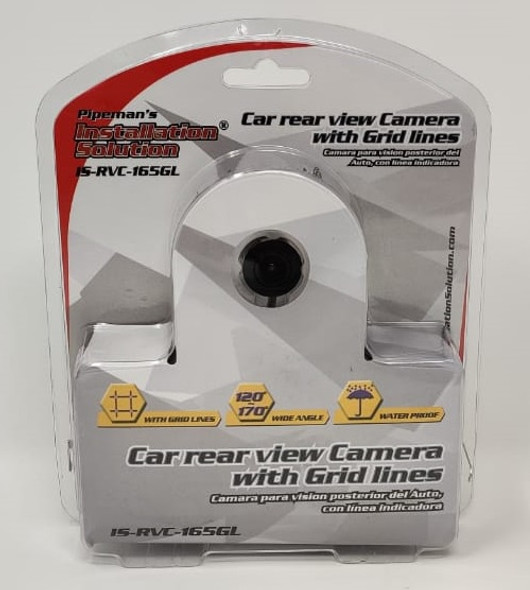 REAR VIEW CAMERA CAR PIPEMAN'S IS-RVC-165GL