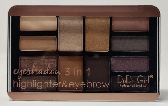 Makeup Eye Shadow Do Do Girl 3 in 1 D4078