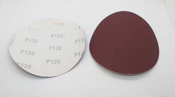 """SAND DISC VELCRO 6"""" P120 WHITE BACK"""
