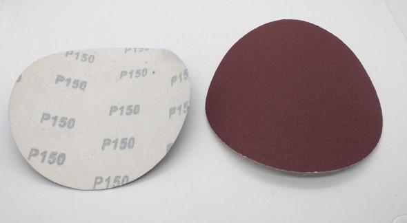 """SAND DISC VELCRO 6"""" P150 WHITE BACK"""