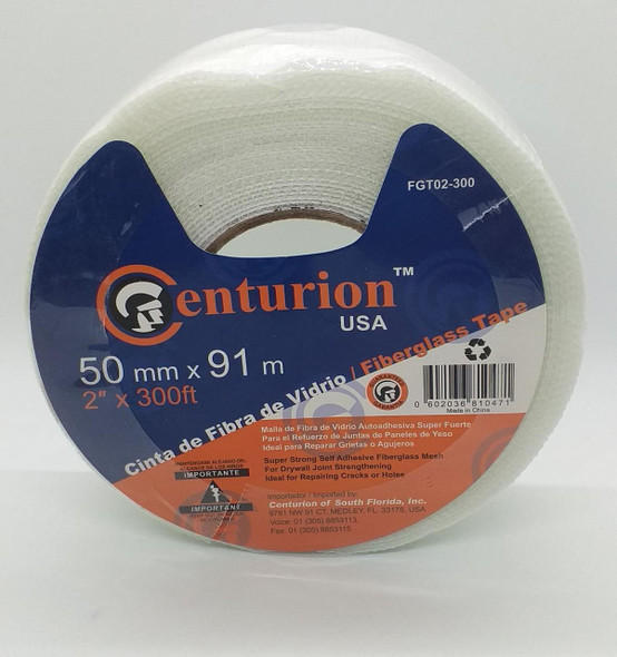 "GYPSUM TAPE NET TYPE CENTURION 2"" X 300FT FGT02-300"