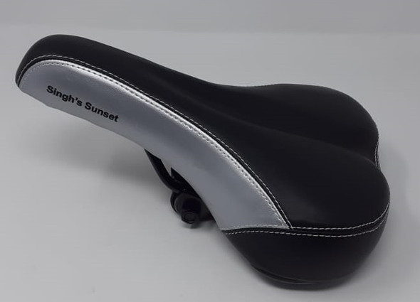 BICYCLE SADDLE 5321 STITCH SINGH'S SUNSET