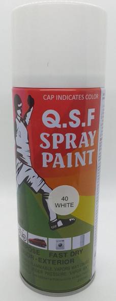 TIN SPRAY PAINT Q.S.F WHITE #40