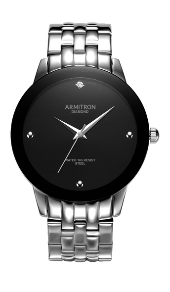 Watch Armitron Men's 20/4952BKSV PALLADIAN 42