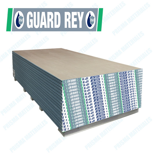 "GYPSUM BOARD 1/2""  WATER/GUARD REY PANEL REY"