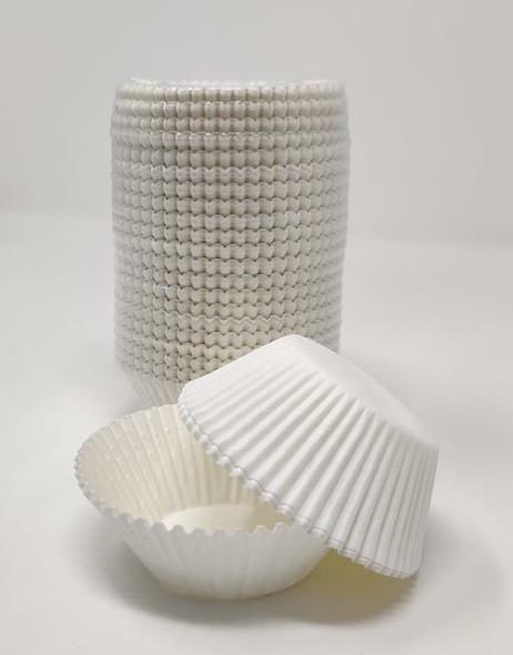 BAKING CUPS 500PCS 11.5cm WHITE CAKE