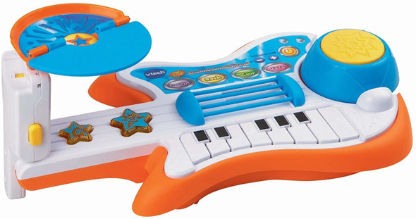 Toy VTech Strum and Jam Kidi Musical Guitar Band (Frustration Free Packaging)