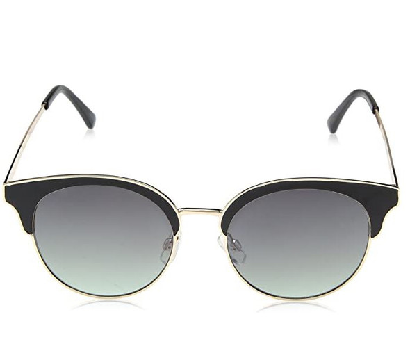 Sunglasses Nanette Nanette Lepore Women's NN217 Round with Top Rim & 100% UV Protection, 51 mm