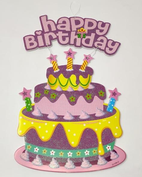 PARTY BANNER HAPPY BIRTHDAY XM09 HANG TYPE