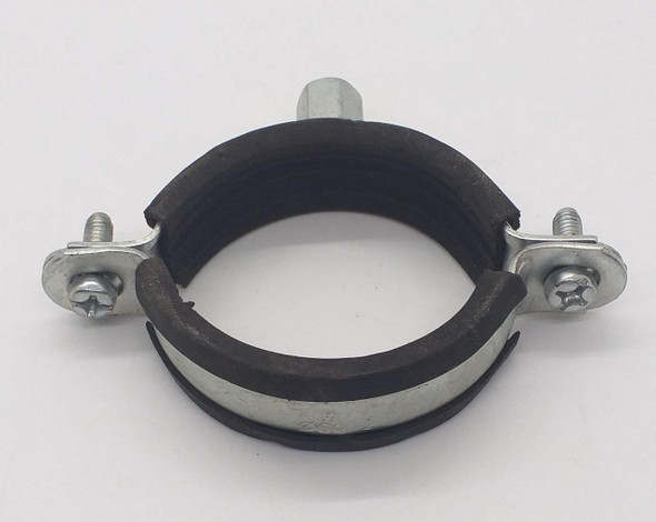 "PIPE CLAMP 2"" METAL W/RUBBER 9937"