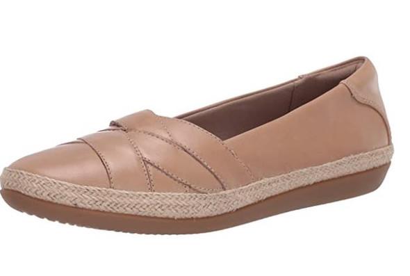 Footwear Clarks Women's Danelly Shine Loafer Sand Leather