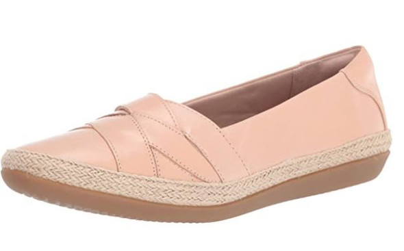 Footwear Clarks Women's Danelly Shine Loafer Blush Leather