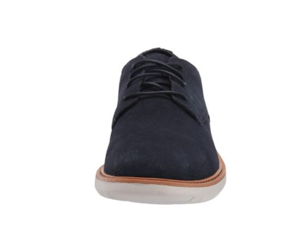 Footwear Clarks Men's Draper Lace Oxford Navy Suede