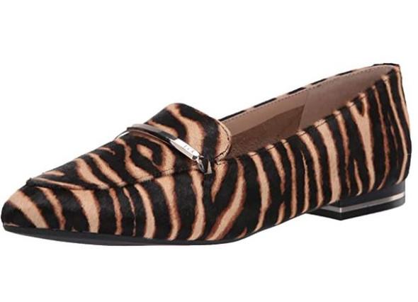 Footwear Kenneth Cole New York Women's Loafer Flat Graphic Zebra