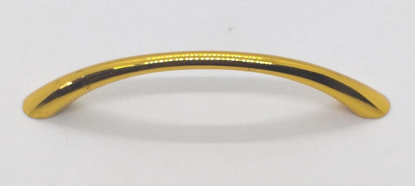 """DRAW HANDLE CURVE GOLD 4 1/2"""" #4"""
