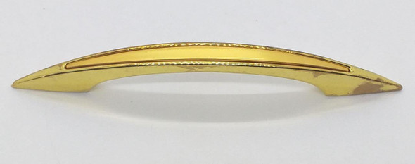"""DRAW HANDLE CURVE GOLD 6"""" # 117"""