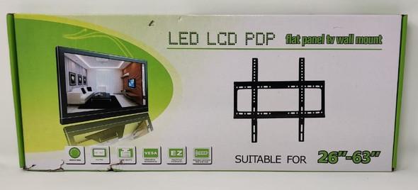 "TV WALL BRACKET 26""-63"" LED LCD PDP GREEN BOX FLAT PANEL"