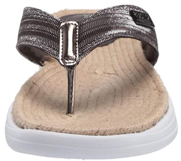 Footwear Kenneth Cole REACTION Women's Thong Sandal Pewter