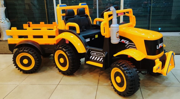 TOY CAR RIDE ON 3340008R WITH TRAILER