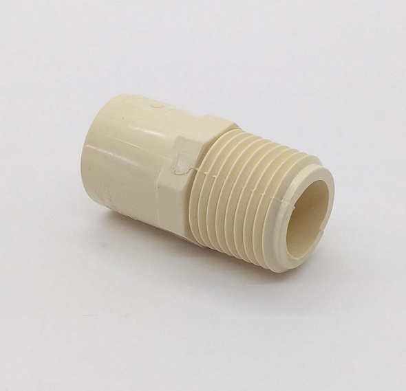 "CPVC MALE ADAPTER 1/2"" (HOT WATER)"