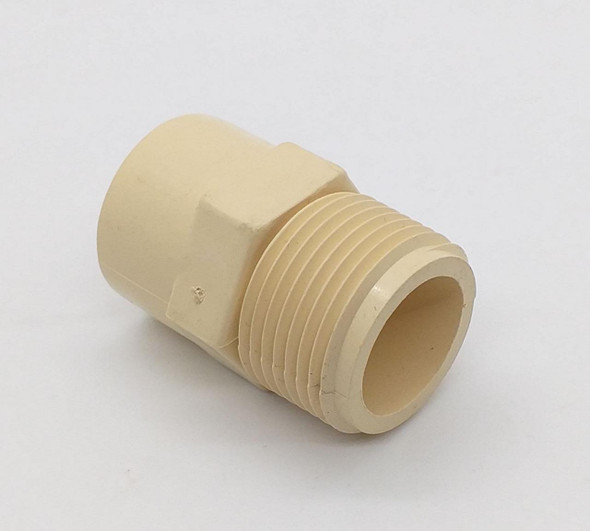 "CPVC MALE ADAPTER 3/4"" (HOT WATER)"
