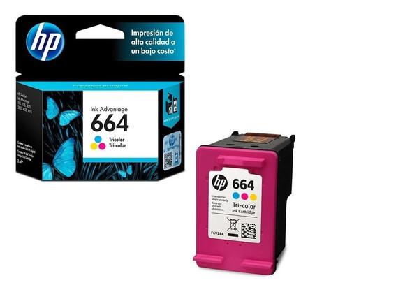 COMPUTER PRINTER INK HP 664 TRI-COLOR F6V28AL