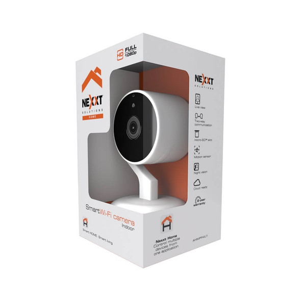 COMPUTER CAMERA NEXXT SMART WI-FI INDOOR FULL 1080P AHIMPF14U1 WITH FREE MICRO USB CABLE