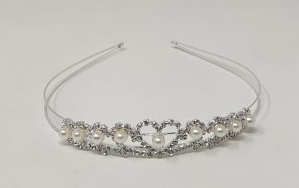 PARTY CROWN SILVER HG105