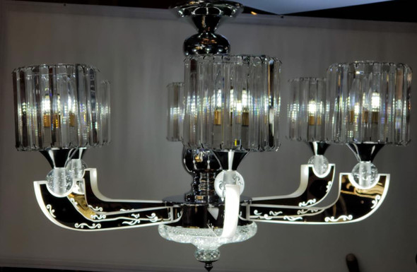 CHANDELIER LED 68036-6 with REMOTE CONTROL