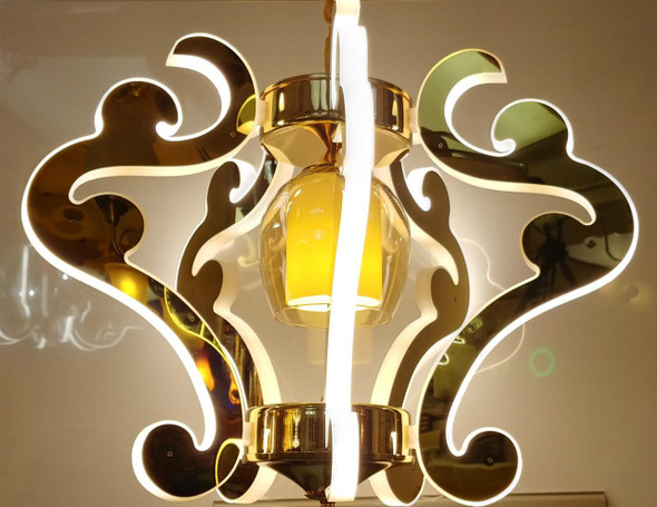 CHANDELIER LED 7005-5 with REMOTE CONTROL