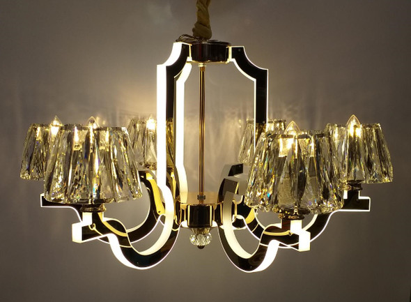 CHANDELIER LED 68008-6C with REMOTE CONTROL