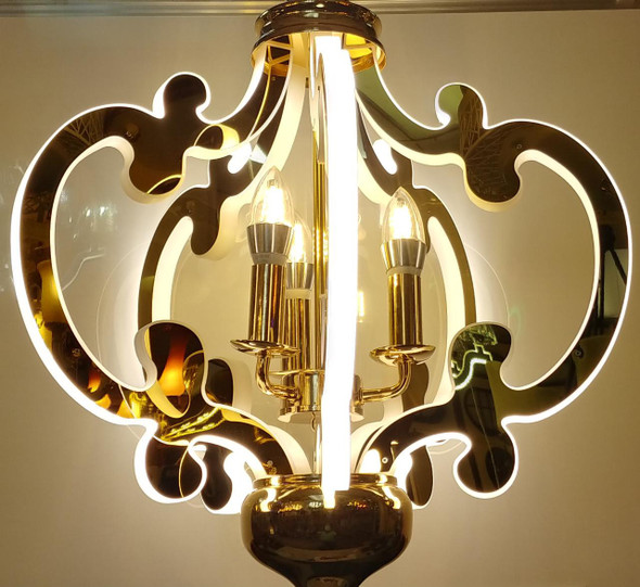 CHANDELIER LED 7003-5 with REMOTE CONTROL