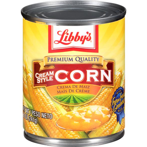 LIBBY'S CREAM STYLE CORN 8.5oz 241g