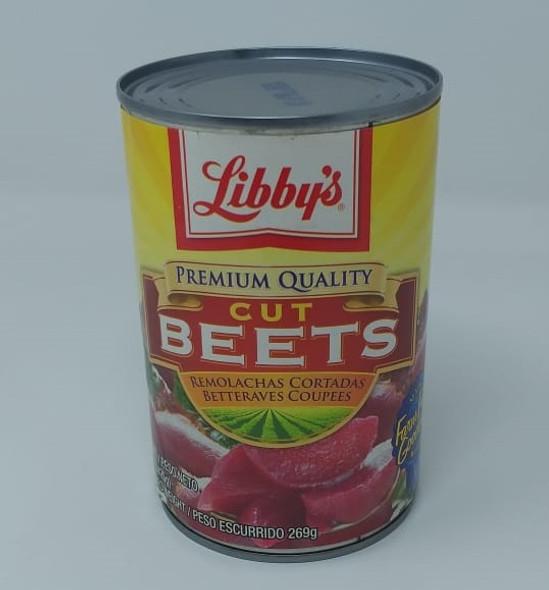 LIBBY'S CUT BEETS 15oz 425g