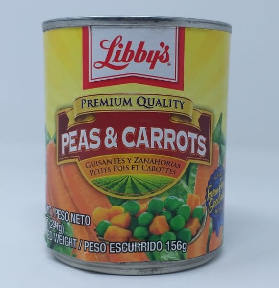 LIBBY'S PEAS AND CARROTS 8.5oz 241g